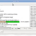 A screenshot of gitk --all